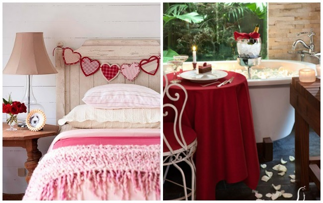 San Valentín ahorrador, decoración