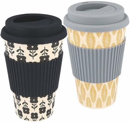Tazas de café de bambú