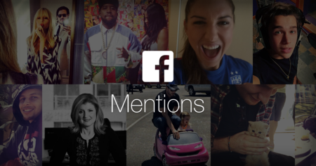 Facebook Mentions, la aplicación para famosos llega a Android