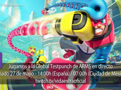 Streaming de la Global Testpunch de ARMS a las 14:00h (las 07:00h en Ciudad de México) [finalizado]