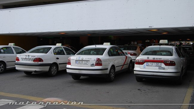Taxis en Chamartin
