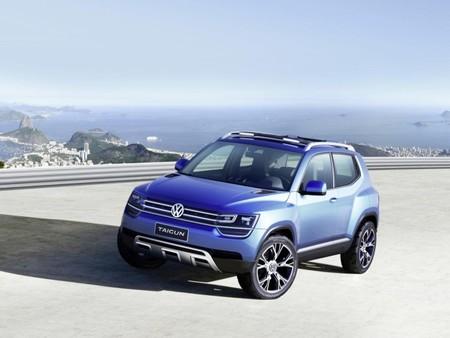 Volkswagen Taigun, el todocamino compacto de Volkswagen en el Salón de Sao Paulo