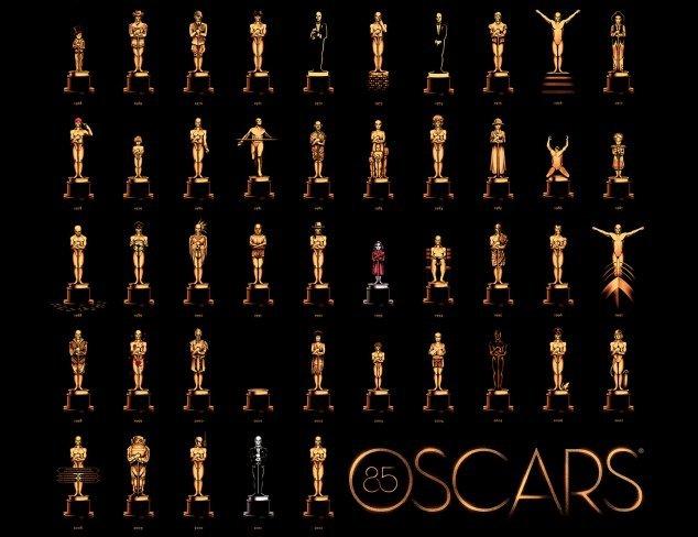 El cartel oficial de los Oscar 2013