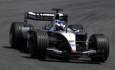 McLaren MP4-18 - Fórmula 1