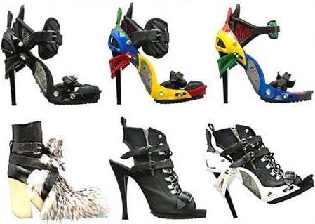 El calzado de Balenciaga otoño-invierno 2007/08