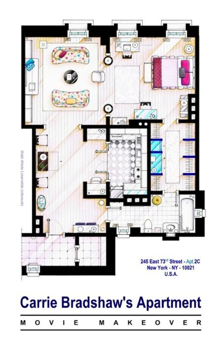 Planos Apartamentos Series Tv 15