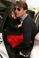 Suri Cruise dispuesta a arruinar a Papa Noel