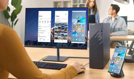El Huawei MateStation S llega a España: éstos son el precio y disponibilidad del conjunto de sobremesa ultracompacto y monitor