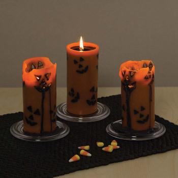 Escalofriantes velas para Halloween