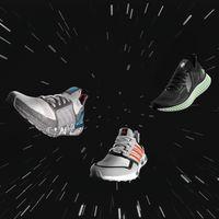 """Si eres runner y fan de Star Wars, estas nuevas zapatillas de Adidas te harán """"sentir la fuerza"""""""