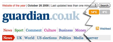 The Guardian, el primer gran periódico en ofrecer RSS a texto completo