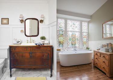 17 ideas para decorar el baño con madera