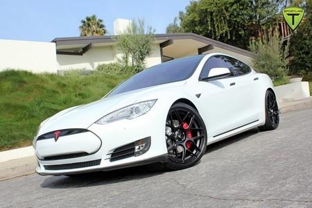 Tesla Model S paquete fibra de carbono TSportline