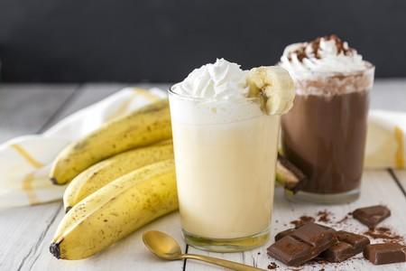 Receta fácil de licuado de plátano con cacao: Antidepresivo natural