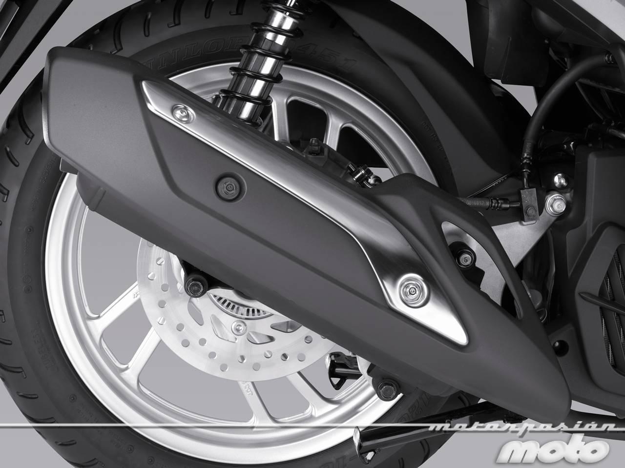 Foto de Honda Scoopy SH125i 2013, prueba (valoración, galería y ficha técnica)  - Fotos Detalles (51/81)