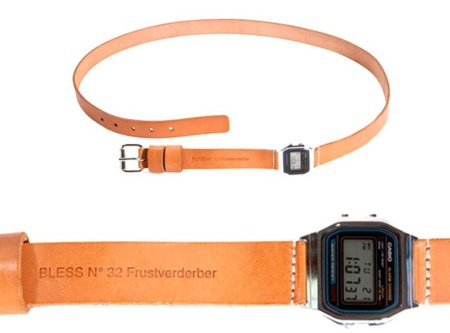Un reloj en el cinturón