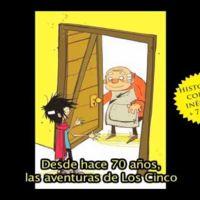 Se editan historias cortas inéditas de Los Cinco para niños pequeños