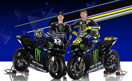Rossi Vinales Yamaha Motogp 2020
