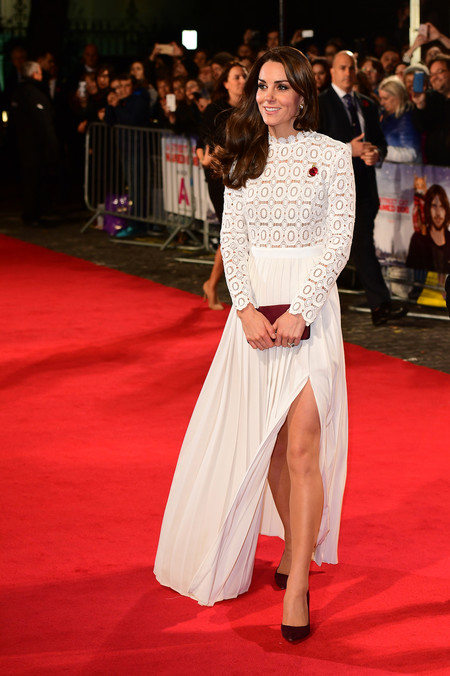 Kate Middleton En Una Premier En Londres