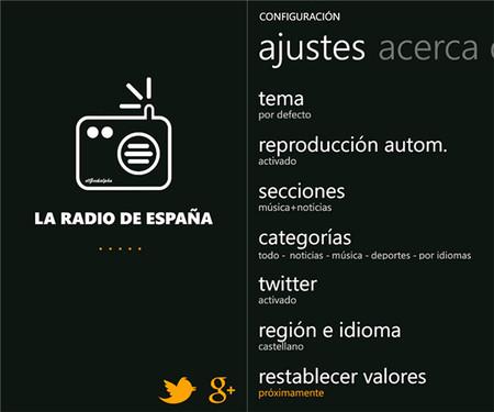 La Radio de España app