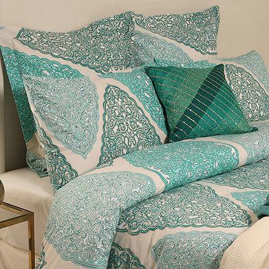 Otro ejemplo de sábanas en Zara Home.