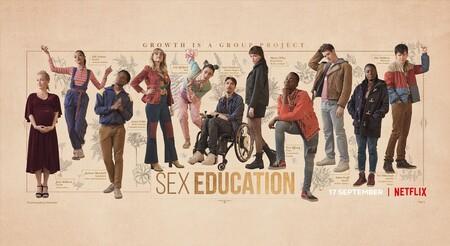Sex Education Cartel Temporada 3