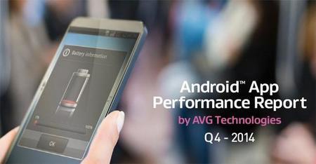 AVG nos muestra las aplicaciones que hacen mayor uso de almacenamiento, batería y tráfico de datos