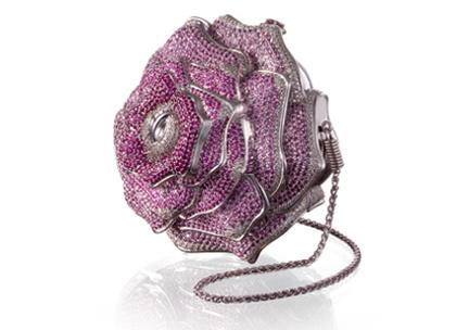 Leiber Precious Rose, un clutch con 42,56 kilates en diamantes