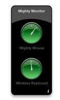MightyMonitor:WidgetparaconocerlabateríadetutecladoAppleinalámbricoyMightyMouse