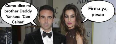 El divorcio de Paloma Cuevas y Enrique Ponce paralizado por culpa del torero, que sigue con sus historias (de Instagram) con Ana Soria