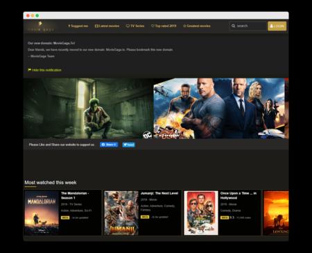 MovieGaga: una web para ver películas y series online sin ningún anuncio o registro de por medio
