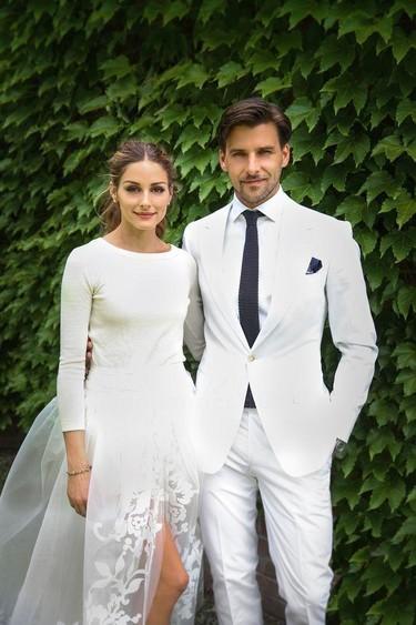 Olivia Palermo estaba ideal el día de su boda