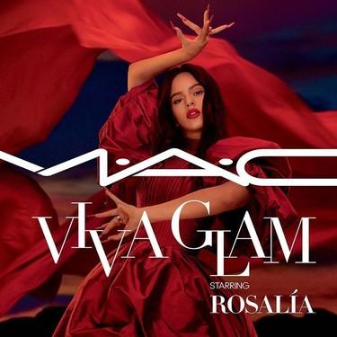 Rosalía se convierte en la nueva embajadora de MAC Cosmetics y protagoniza la nueva campaña MAC Viva Glam