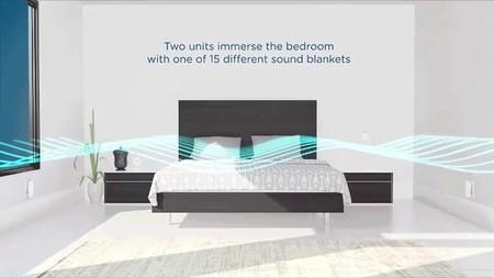 Nightingale emite diferentes ruidos de fondo para que puedas conciliar mejor el sueño