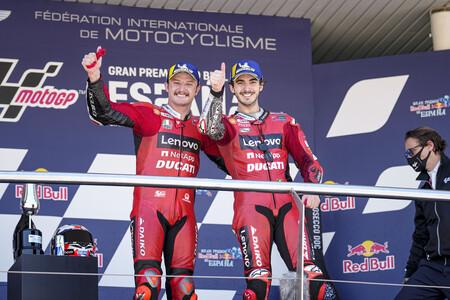 Miller Bagnaia Jerez Motogp 2021