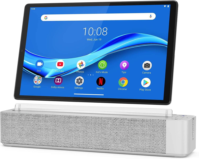 Lenovo Smart Tab M10 Plus FHD, pantalla de 10.4 Pulgadas con Alexa integrada, procesador Octa-Core, 64GB de almacenamiento y 4GB de RAM