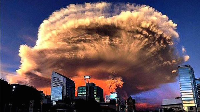 Volcan Calbuco Chile