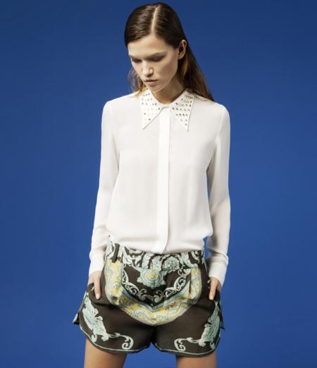 Zara cuellos lookbook febrero