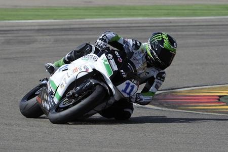 Superbikes Aragón 2012: Kenan Sofuoglu, sancionado, pasa primero, pero vence Sam Lowes en Supersport