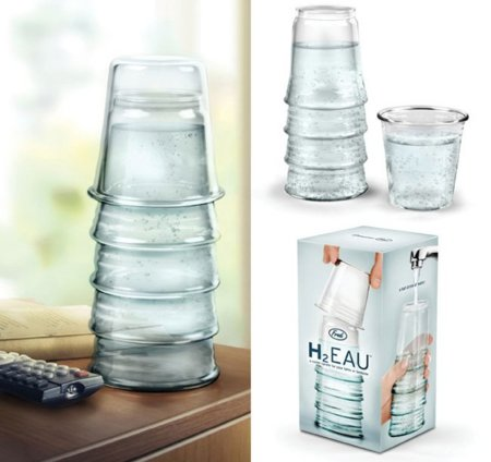 H2Eau, ¿botella o vasos de agua?