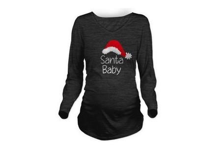 Camiseta Sant Baby Navidad Premama
