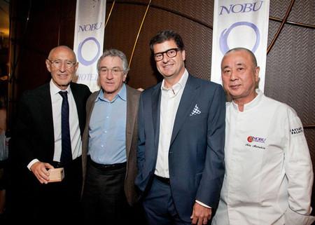 Los hombres detras de Nobu Hotels
