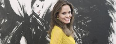 Angelina Jolie luce el perfecto look de invitada de día en la presentación de 'Maléfica 2' en Tokio
