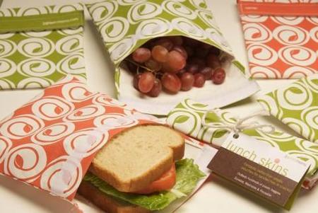 Comer en la oficina con sobres porta-alimentos