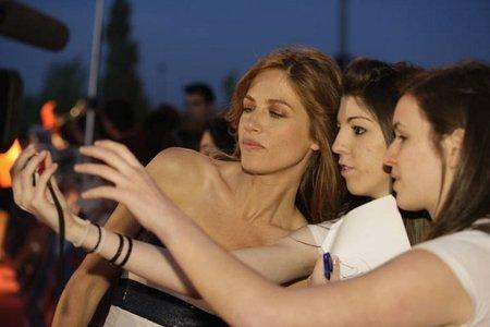 Algunos looks en el preestreno de la película Águila Roja