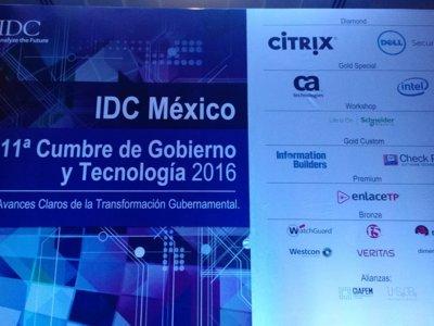 Así se vivió la 11ª Cumbre de Gobierno y Tecnología 2016 en México