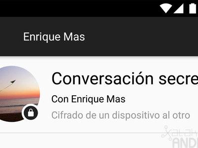 Cómo mantener una conversación secreta con Facebook Messenger