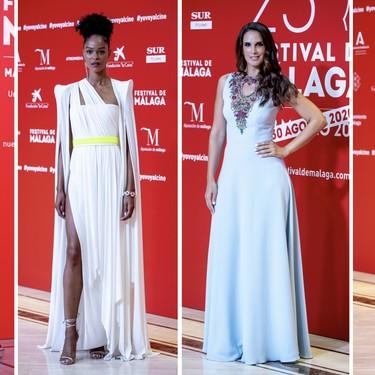 Lo mejor y lo peor de todas las alfombras rojas vistas en el Festival de Cine de Málaga 2020