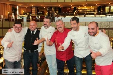 Celebramos el Día del Chef en Platea con grandes cocineros