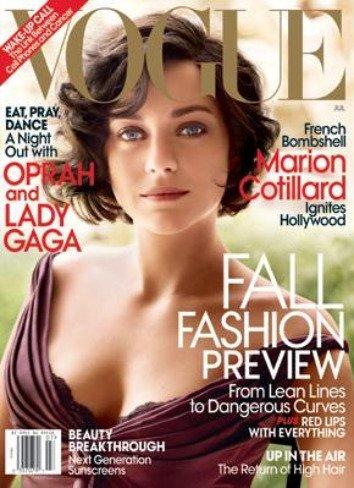 La elegancia personificada en Marion Cotillard en Vogue Estados Unidos